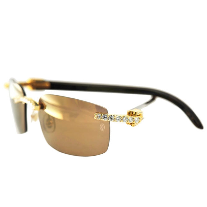 Custom Diamond Sunglasses