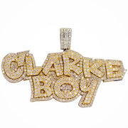 Custom Clarke Boy Pendant