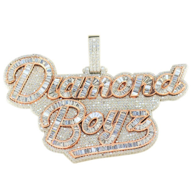 Custom Diamond Boyz Pendant