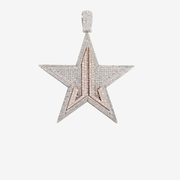 Custom Diamond Star Pendant
