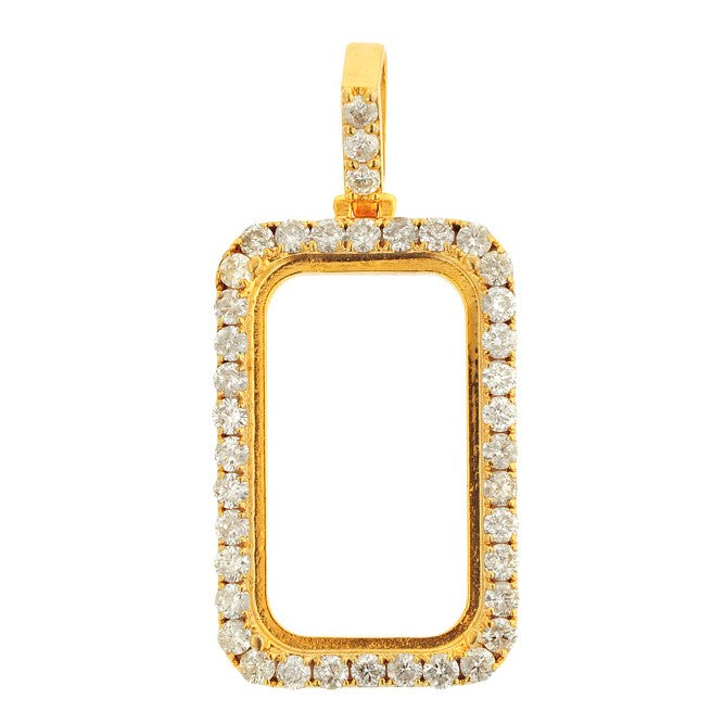 Custom Diamond Pendant Frame