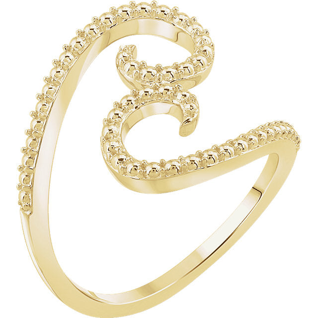 Ladies Swirl Ring