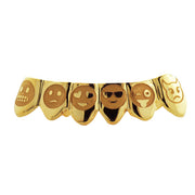 6 Engraved Teeth