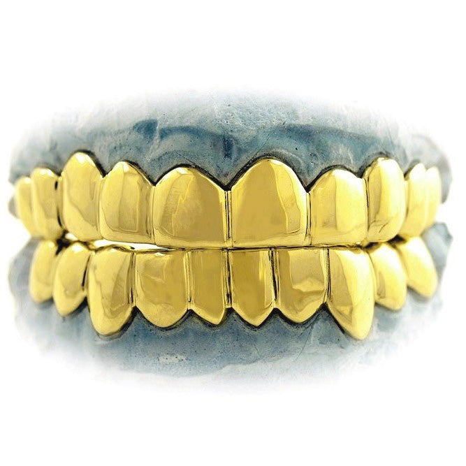 Gold Mouth 20 Piece Solid Gold Grill