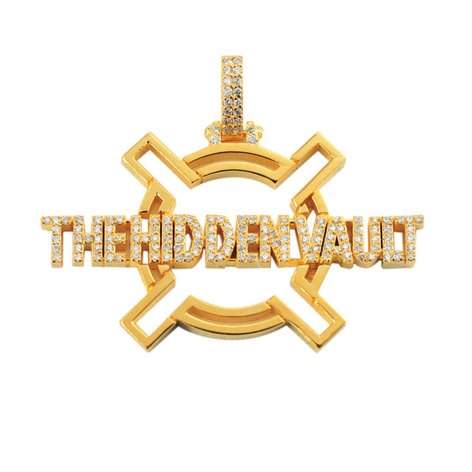 CUSTOM THE HIDDEN VAULT PENDANT