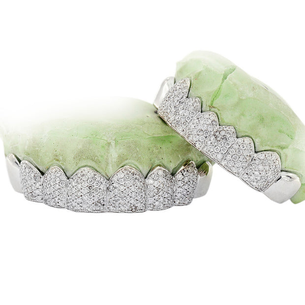 TEETH HAND SET DIAMOND GRILL