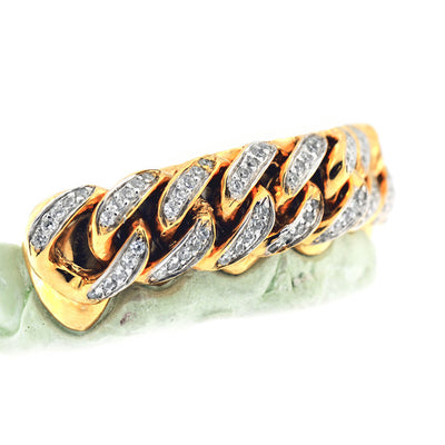 Custom Cuban Link Diamond Grill