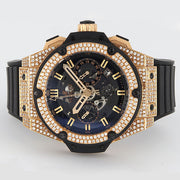 WH201216-01 - Pre-owned Hublot King Power 18Kt and Diamond Case 48mm