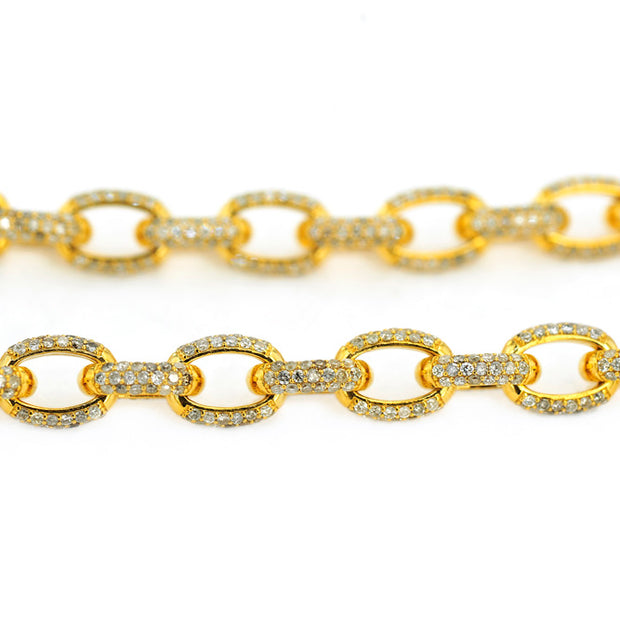 Diamond Cable Link Chain