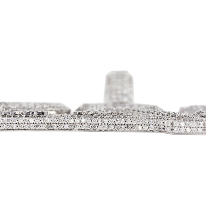 Multi Layer Diamond Pendant