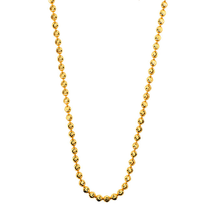3mm Bead Gold Chain
