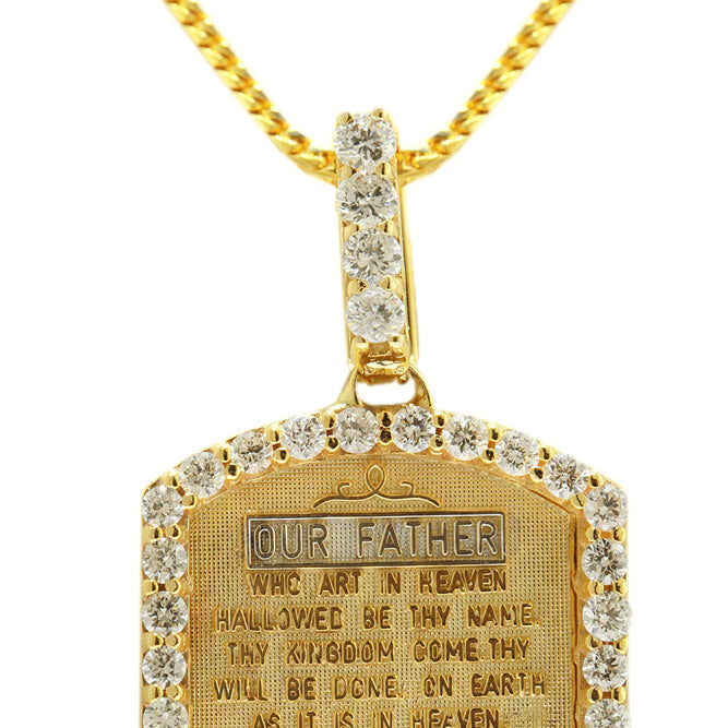 """The Lord's Prayer"" Pendant"