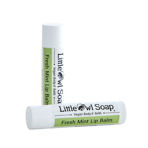 Fresh Mint - Lip Balm -  Little Owl Soap
