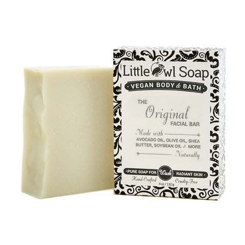 The Original Facial Bar - Bar Soap -  Little Owl Soap