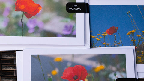 Poppy Greeting Cards are A6 in size and created by GS Creative Photography Gifts