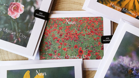 Nan Mother's Day Cards by GS Creative Photography Gifts
