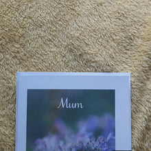 Load and play video in Gallery viewer, Lavender Bee Mother's Day Card- A6