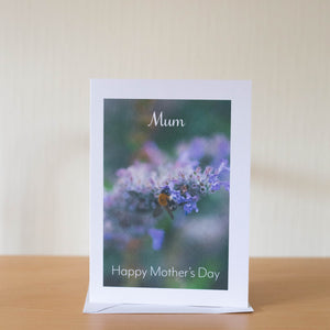Lavender Bee Mother's Day Card- A6