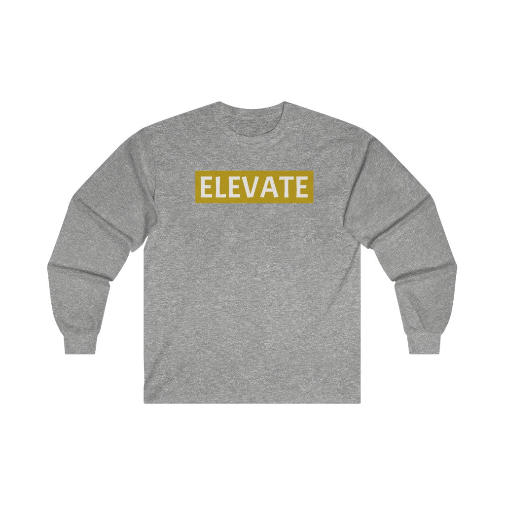 Elevate Ultra Cotton Long Sleeve Tee