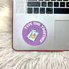 Type One Together Circle Sticker