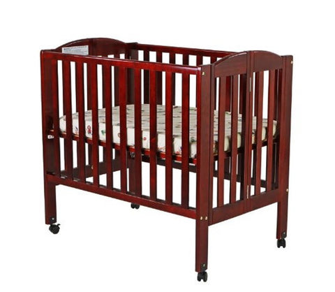 Compact Wooden Crib