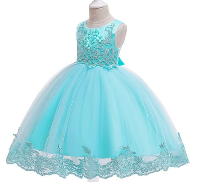 Lace Embroidered Princess Dress✅