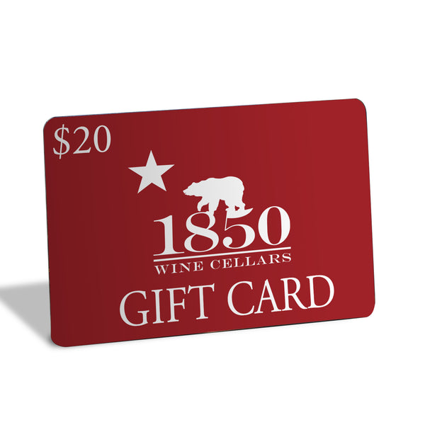 1850 Wine Cellars Gift Card