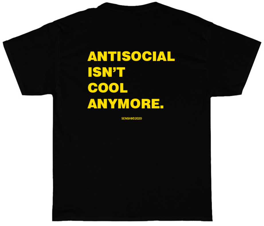 Antisocial isn't Cool Anymore Tee [Preorder]