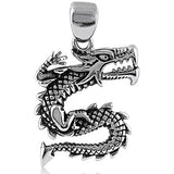 Men's Stainless Steel Dragon Pendant Style #15