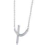 """A-Cross"" Necklace"