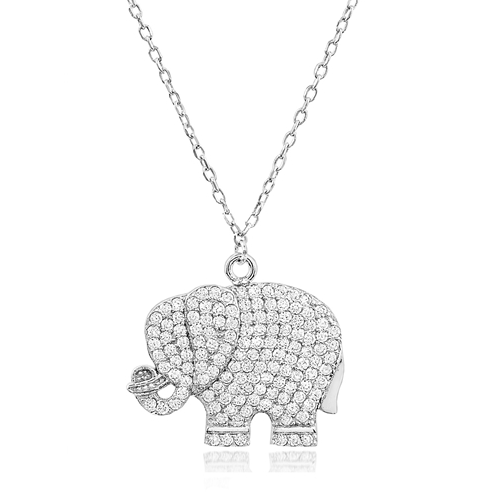 """The Ellie"" Silver Necklace"