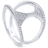 """The Monica"" Silver Ring"