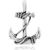 Men's Stainless Steel Anchor Pendant #35