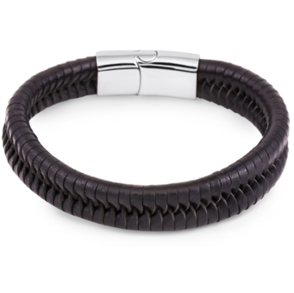 Men's Leather Bracelet High Quality, Gift Box Included