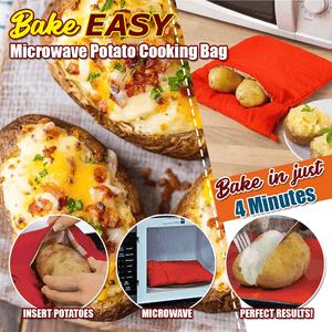 BakeEasy Microwave Potato Cooking Bag