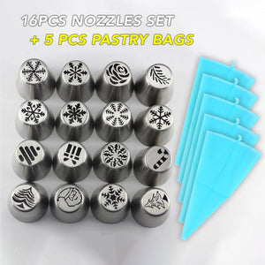 Christmas Style Nozzle Pastry Kit
