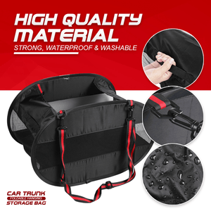 Car Trunk Foldable Hanging Storage Bag