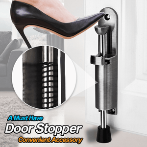 Stainless Steel Easy Kickdown Door Stoppers