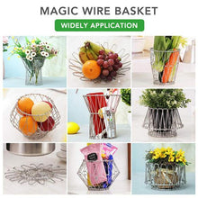 Load image into Gallery viewer, Collapsible Wire Basket