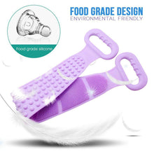 Load image into Gallery viewer, Cozy Silicone Bath Massage Strap