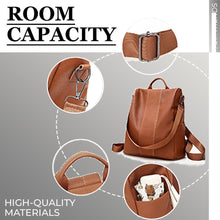 Load image into Gallery viewer, Women Safety Waterproof Leather Shoulder Bag