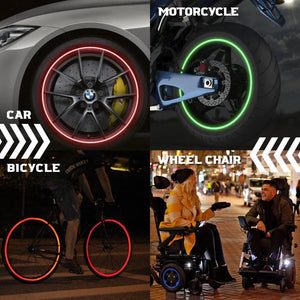 Reflective Car Wheel Sticker (16pcs)