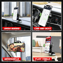 Load image into Gallery viewer, Adjustable Car Suction Cup Phone Holder