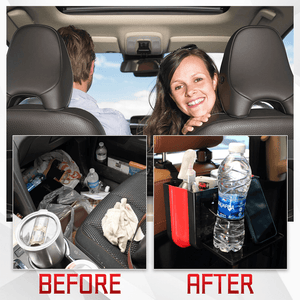 Car Back Seat Multi-Functional Organizer