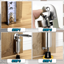 Load image into Gallery viewer, Stainless Steel Easy Kickdown Door Stoppers