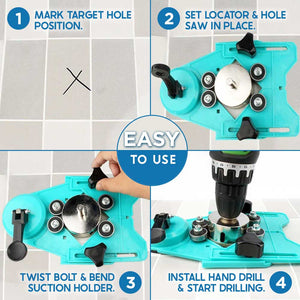 Suction Cup Tile Punching Locator