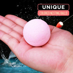 Poly Fish Bubble Nesting Balls - 4PCS