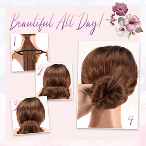 Easy Hair Bun Maker Comb - Set For 4