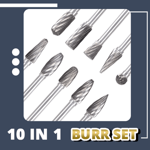 Metal Polishing Cut Carbide Rotary Set