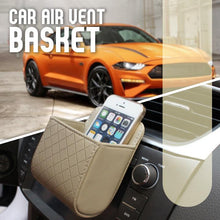 Load image into Gallery viewer, Car Leather Storage Basket-Set For 4